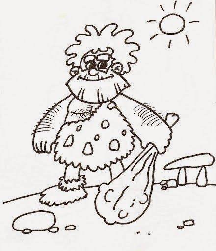 Dibujos Para Colorear Maestra De Infantil Y Primaria Dibujos Para Colorear La Prehistoria En 2020 Prehistoria La Prehistoria Para Ninos Dibujos