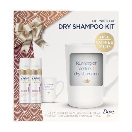 Dove 3 Pc Morning Fix Hair Gift Set With Bonus Running On Coffee Dry Shampoo Mug 2 X Dry Shampoo 5 Oz 12 67 Value Walmart Com Dry Shampoo Hair Gift Dove Dry Shampoo