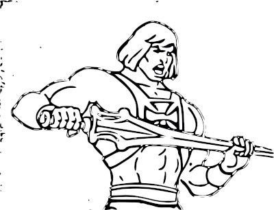 He Man Coloring Sheets Coloring Pages