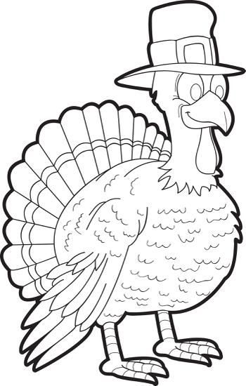 Printable Thanksgiving Turkey Coloring Page For Kids Turkey Coloring Pages Fall Coloring Pages Free Thanksgiving Coloring Pages