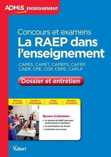 Amazon Fr La Raep Dans L Enseignement Dossier Et Entretien Concours Et Examens Professionnalises Enseignement Livres Gratuits En Ligne Livre Numerique