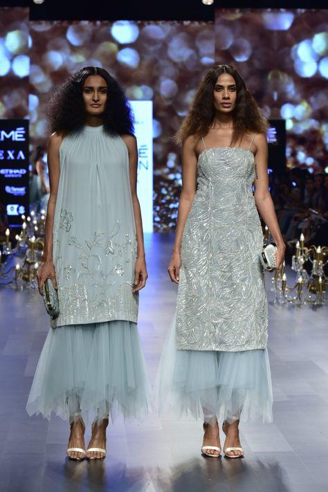 Kangana Ranaunt walks for Shyamal And Bhumika at Lakme Fashion Week Spring/Summer 2018 In Mumbai