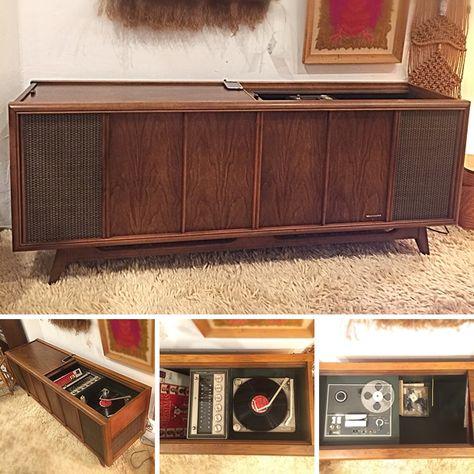 recordplayer #Vintage #Magnavox #SolidState...