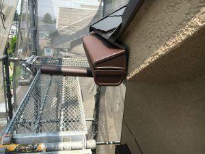 雨樋交換 落ち葉が詰まらない すとっ葉ー を取り付けました 雨樋