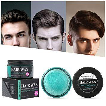 Hair Wax Amazon Com Strong Hold Hair Wax Luckyfine Hair Styling Clay Hair Hair Wax Hair Wax For Men Hair Cream