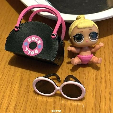 With bag LOL Surprise LiL Sisters L.O.L D.J DJ  HIP HOP CLUB SERIES 2  doll