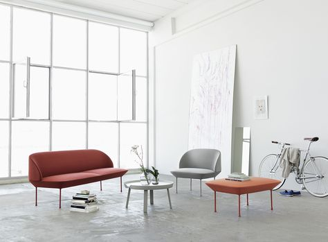 Muuto   The Olso Series, Designed By Anderssen U0026 Voll, Comes In A 3 Seater  Sofa, 2 Seater Sofa, A Chair And A Pouf. | Photos By Muuto | Pinterest |  Oslo, ...