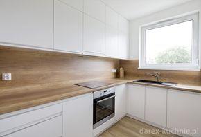 Kuchnia Z Wysoka Zabudowa Darex Szczecin Kitchen Room Design Kitchen Remodel Small Modern Kitchen Interiors