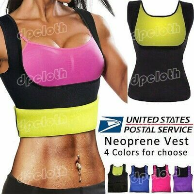 Women Body Hot Vest Shaper Slimming Redu Vest Shirt Underbust Corset Sauna Cami