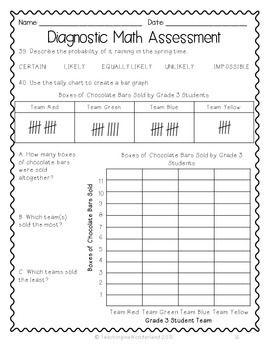 Grade 3 Ontario Based Diagnostic Math By Teachinginawonderland Teachers Pay Teachers Math Assessment Math Teaching Math