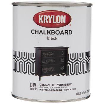 Krylon Black Chalkboard Paint Hobby Lobby 294322 In 2020 Black Chalkboard Paint Best Chalkboard Paint Black Chalkboard