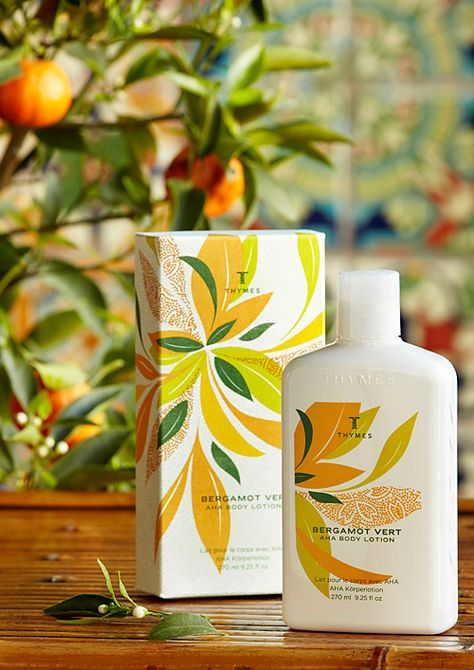 pin it to win it thymes bergamot vert aha body lotion this scent is
