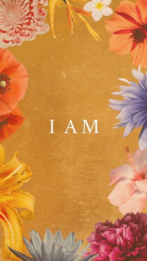 ICH BIN umfasst den Lebensbereich Charakter. Das wichtigste Projekt an dem du jemals arbeiten wirst, bist du selbst! Häufig wird uns suggeriert, wir sind, was wir haben. Dabei ist es genau andersherum: Du hast, WER DU BIST. Alles geht von deinem Sein aus > Klicke auf den Pin und erfahre mehr! 💕Laura Malina Seiler | Coaching | Higher Self | Inspiration | Motivation | Schöpferkraft | Affirmation | Intention | Quote | moderne Spiritualität | persönliche Weiterentwicklung | wallpaper | Hintergrund