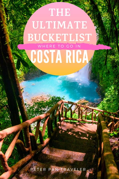Planning a vacation to Costa Rica? Not sure where you should go on your Costa Rican holiday. Here is a list of all the best places that you can't miss on your trip to Costa Rica. Places To Travel, Travel Destinations, Travel Tips, Travel Hacks, Travel Essentials, Budget Travel, Mykonos, Honduras, Costa Rica Travel