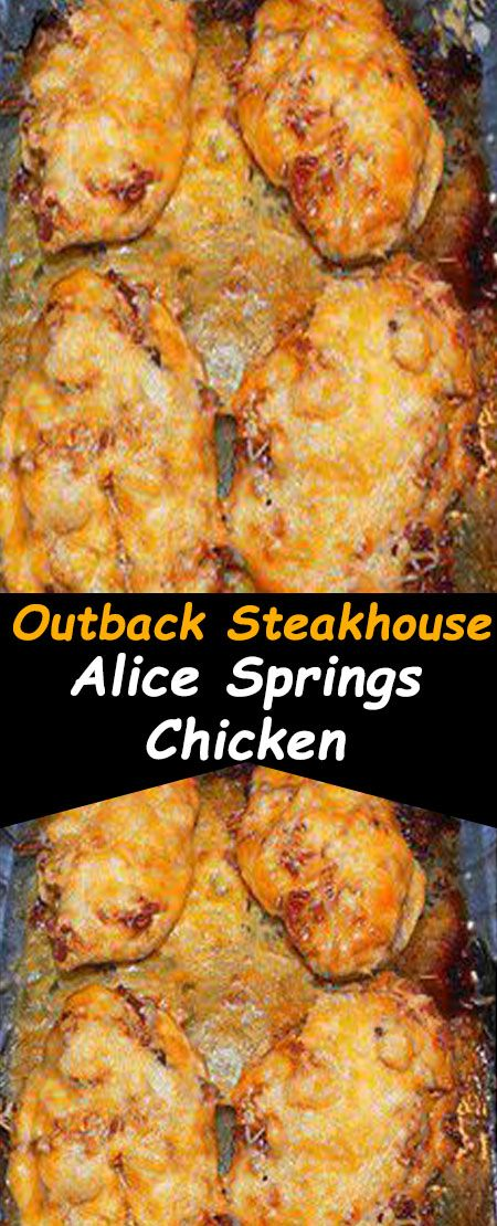 Outback Steakhouse Alice Springs Chicken Recipe Easy Chicken