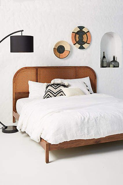 Anthropologie Sorella Leather Bed Leather Bed Bed Furniture