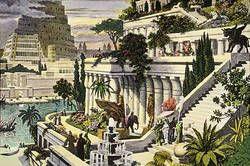 Hangende Garten Der Semiramis Gardens Of Babylon Ancient Babylon Hanging Garden