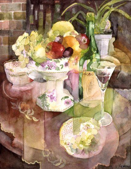 Peinture Fleurs De Wolfskuil Du Tableau Aquarel Peinture Florale