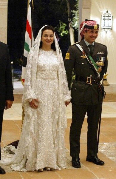 Princess Noor Of Jordan Royal Wedding Gowns Royal Brides Plus