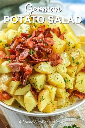 German Potato Salad Recipe Cold With Bacon