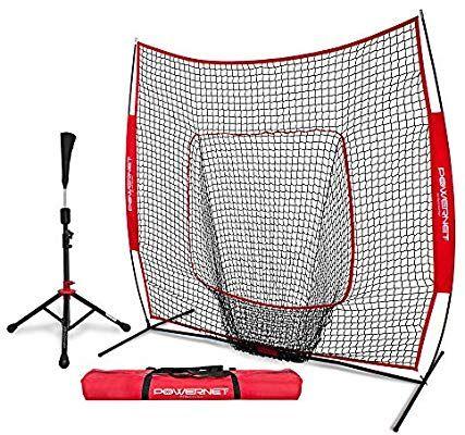 Refurbished Baseball Softball Hitting Net PowerNet 7x7 for Batting Practice