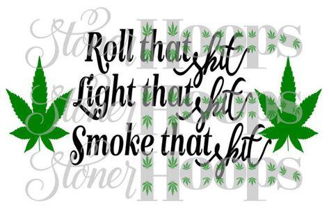 Stoner Weed Svg Files
