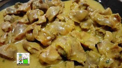 Recetas Del Sur Mollejas De Pollo En Salsa Mollejas De