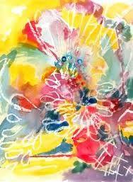 wax resist watercolor - Google Search