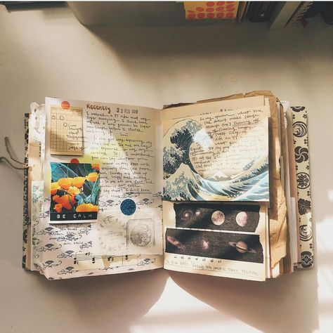 Image about art in Journals by . - on We Heart It Bullet Journal Writing, Bullet Journal Aesthetic, Bullet Journal Ideas Pages, Bullet Journal Inspiration, Art Journal Pages, Art Journals, Journal Prompts, Art Journal Challenge, Junk Journal