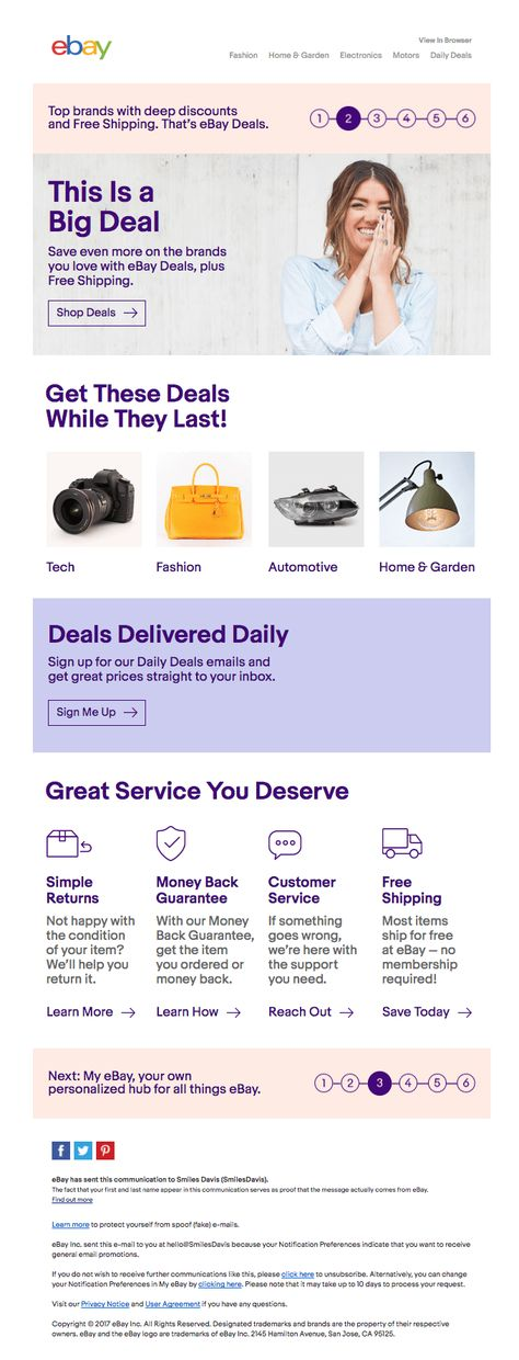 Don't miss out – discover eBay deals today | Really Good Emails