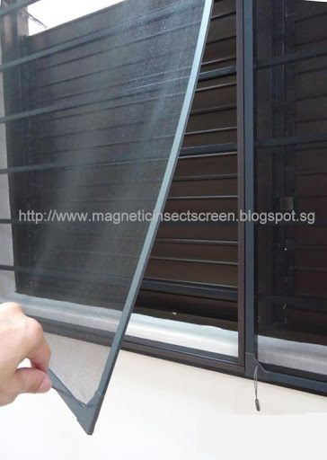 Diy Magnetic Insect Screen Singapore Insect Screen In 2020 Insect Screening Diy Insect Screen Bug Screen
