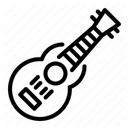 Instrument Music Guitar Song Icon Download On Iconfinder Ukulele Icon Songs