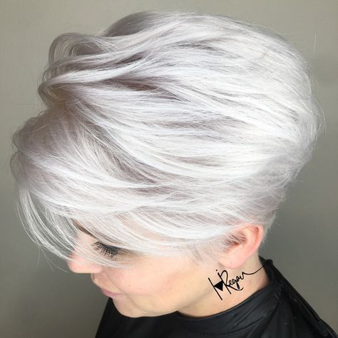 Pin On Sexy Silver Hair