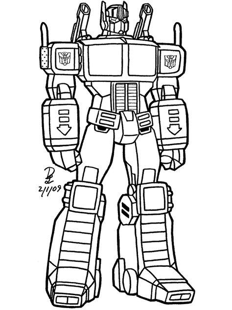 Resultado De Imagen Para Transformer Dibujos Para Rellenar