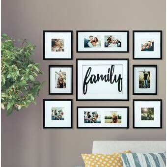 Nealy 13 Piece Collage Picture Frame Set In 2020 Family Decor Picture Frame Decor Frames On Wall