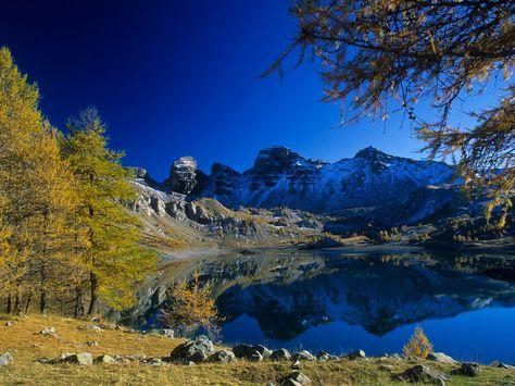 Les plus beaux lacs de France: Le lac d'Allos (Le plus grand lac naturel d'altitude en Europe), Parc du Mercantour