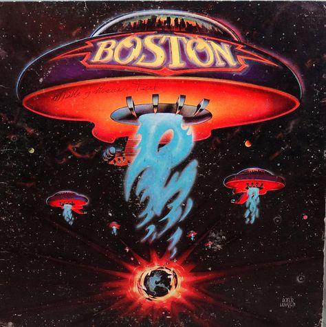Boston  Boston 1976  LP Album Vinyl Record  Hard Rock