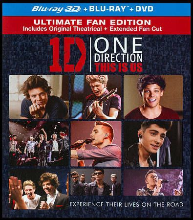 Don T Miss This One Direction This Is Us Blu Ray 3d 2013 2 Disc Set Ebay One Direction I Love One Direction This Is Us