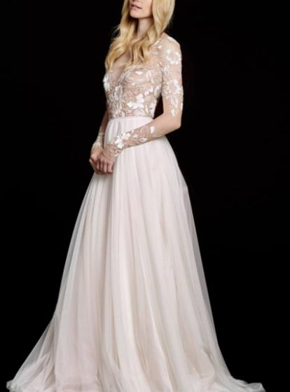 6494c9a3af 5 Wedding Dresses Like Grace Kelly s That Are Equal Parts Timeless    Stunning  remmingtondress  hayleypaige  wedding  weddingday  weddingdress   bridal ...