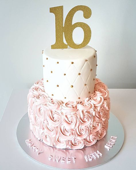 Super Cake Birthday Fondant Woman Simple 51 Ideas 16th Birthday Cake For Girls Birthday Cakes For Women Tiered Cakes Birthday