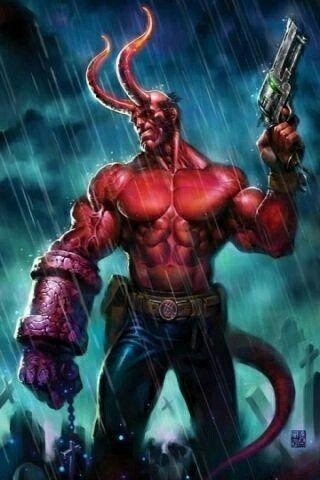 Hellboy Illyustracii Komiksov Marvel Marvel Komiksy