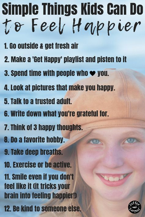 How to Help An Unhappy Child Be Happy