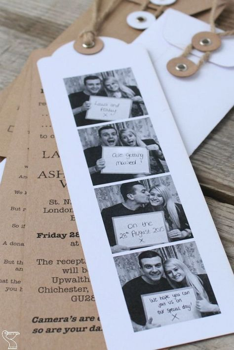 Wedding Invitations Funny Photo Booths 10 weirdest wedding invitations funny wedding invitations, cool wedding invitation. are you planning to get married but hate traditional squared invitations then meet these crazy and unusual ways to... #weddinginvitationideas