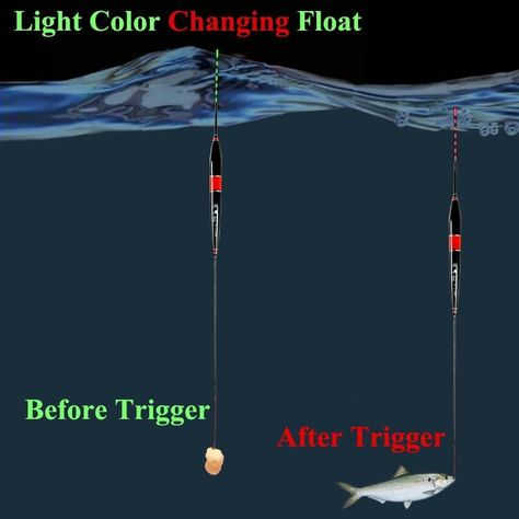 3 PCS Smart Fishing Electronic Luminous Float(BUY 1 GET 2ND 10% OFF)