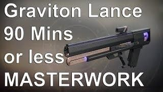 Destiny 2: Graviton Lance Masterwork: How to get 2