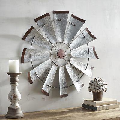 48 Ideas For Farmhouse Livingroom Wall Decor Windmill