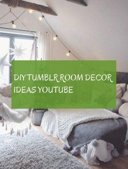 Diy Tumblr Room Decor Ideas Youtube Tumblr Room Decor Room