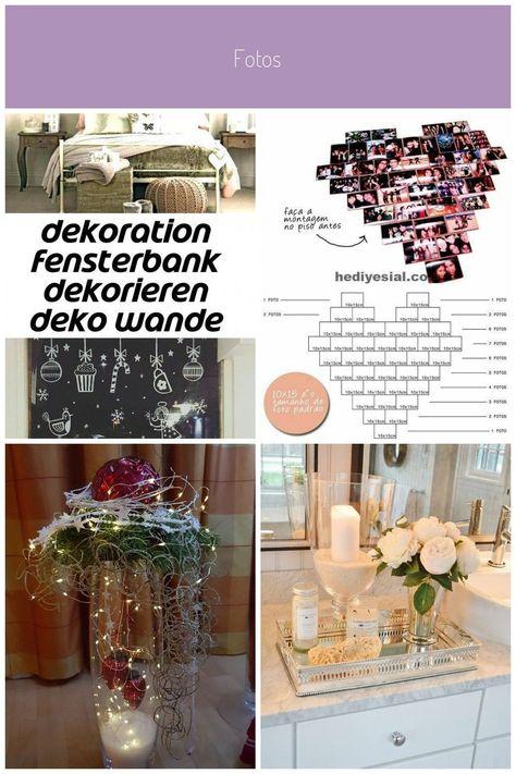 Dekoration Fensterbank Dekoration Wand Grau Selber Schmucken