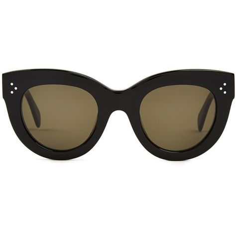 4022d6d063b8 Céline Sunglasses Cat-eye frame acetate sunglasses ( 311) ❤ liked on Polyvore  featuring