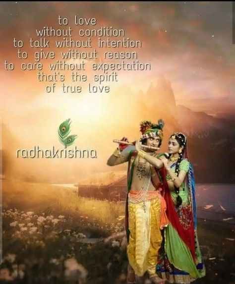 Radha Krishna Love Quotes Images In English Love Quotes